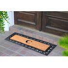 First Impression Myla Monogrammed Doormat Letter: C
