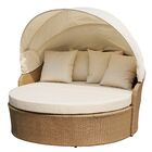 Earth Outdoor Canopy Daybed with Mattress