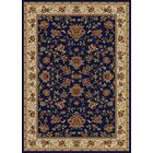Weisgerber Navy Area Rug Rug Size: Rectangle 5'5
