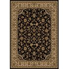 Weisgerber Black Area Rug Rug Size: Rectangle 7'9