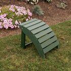 Anabella Folding Ottoman Color: Turf Green