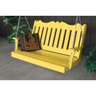 Nicholas English Porch Swing Finish: Lemon Yellow