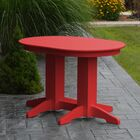 Nettie Dining Table Color: Bright Red, Table Size: 60