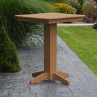 Nettie Bar Table Color: Cedar, Table Size: 44