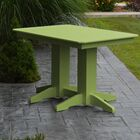 Nettie Dining Table Color: Lime Green, Table Size: 72