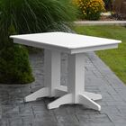 Nettie Dining Table Color: White, Table Size: 72