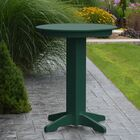 Nettie Bar Table Color: Turf Green, Table Size: 33