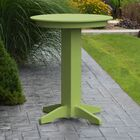 Nettie Bar Table Color: Lime Green, Table Size: 44