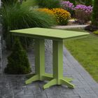 Nettie DiningTable Color: Lime Green
