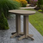 Nettie Bar Table Color: Weathered Wood