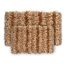 SeaBreeSeaBreeze 2 Piece Hand-Woven Champagne Novelty Rug Set