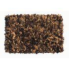Handmade Brown/Tan Area Rug Rug Size: Rectangle 3'6