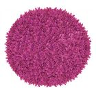Kaylyn Shaggy Round Hand-Knotted Pink Area Rug Size: Round 4'9