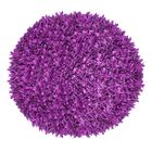Kaylyn Shaggy Round Hand-Knotted Purple Area Rug Size: Round 4'9