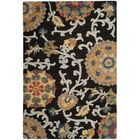 Mudoch Hand-Tufted Wool Charcoal Area Rug Rug Size: Rectangle 4' x 6'