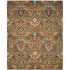 Elford Hand-Tufted Wool Green Area Rug Rug Size: Rectangle 8' x 10'