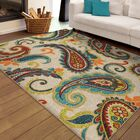 America Area Rug Rug Size: 7'8