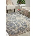 Aberdeen Ivory/Blue Area Rug Rug Size: Rectangle 9'3
