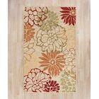 Aldford Beige/Orange Hand-Hooked Indoor/Outdoor Area Rug Rug Size: Rectangle 5' x 7'
