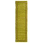 Barnard Hand Tufted Green Area Rug Rug Size: Runner 2'6