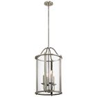 Boulder Creek 4-Light Foyer Pendant Finish: Classic Pewter