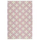 Bockman Cream/Pink Indoor/Outdoor Area Rug Rug Size: Rectangle 2' x 3'