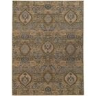 Tackett Brown/Blue Area Rug Rug Size: Rectangle 7'10