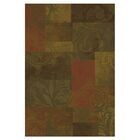 Matteson Green/Red Area Rug Rug Size: Rectangle 10' x 13'