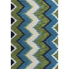 Lager Head Blue/Green Chevron Area Rug Rug Size: Rectangle 7'9