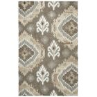 Allerton Hand-Tufted Brown Area Rug Rug Size: Rectangle 3' x 5'