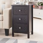 Maeystown Wood End Table with Storage