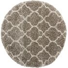Linton Stone Area Rug Rug Size: Round 6'7