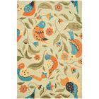 Alston Blossom Bird Sage Rug Rug Size: Rectangle 5' x 8'