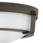 Hathaway 1-Light LED Semi Flush Mount Size: 4.5
