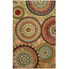 Chesterfield Brown/Red Area Rug Rug Size: Rectangle 5' x 8'