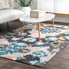 Bradcliff Hand-Tufted Navy Area Rug Rug Size: Rectangle 5' x 8'