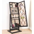 Forontenac Free Standing Jewelry Armoire with Mirror