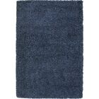 Lionel Slate Blue Area Rug Rug Size: 5'3