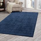Loring Hand-Tufted Blue Area Rug Rug Size: 8' x 10'