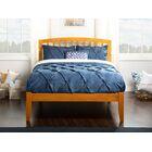 Wrington Platform Bed Color: Antique Walnut, Size: Full