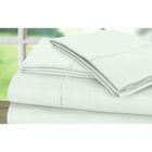 Dream Castle 600 Thread Count 100% Cotton Sateen Marrow Hem 6 Piece Sheet Set Size: King, Color: Mint