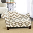 Anya Sophisticated Decorative Dog Chaise Lounger