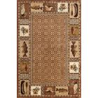 Lodge Renaissance Okena Area Rug Rug Size: Rectangle 5' x 7'6