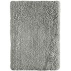 Voorhees Shag Hand-Tufted Light Beige Area Rug Rug Size: 7'6