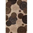 Hettick Chandler Beige Brown/Gray Area Rug Rug Size: 6'7