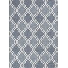 Aloysius Moroccan Gray Indoor/Outdoor Area Rug Rug Size: Rectangle 5'3X7'