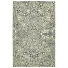 Toshiro Traditional Hand Tufted Wool Gray Area Rug Rug Size: Rectangle 10' x 14'