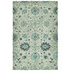 Toshiro Hand Tufted Wool Turquoise Area Rug Rug Size: Rectangle 9' x 12'