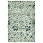 Toshiro Hand Tufted Wool Turquoise Area Rug Rug Size: Rectangle 2' x 3'
