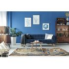 Bargas Hand Tufted Wool Blue/Brown Area Rug Rug Size: Rectangle 3'6